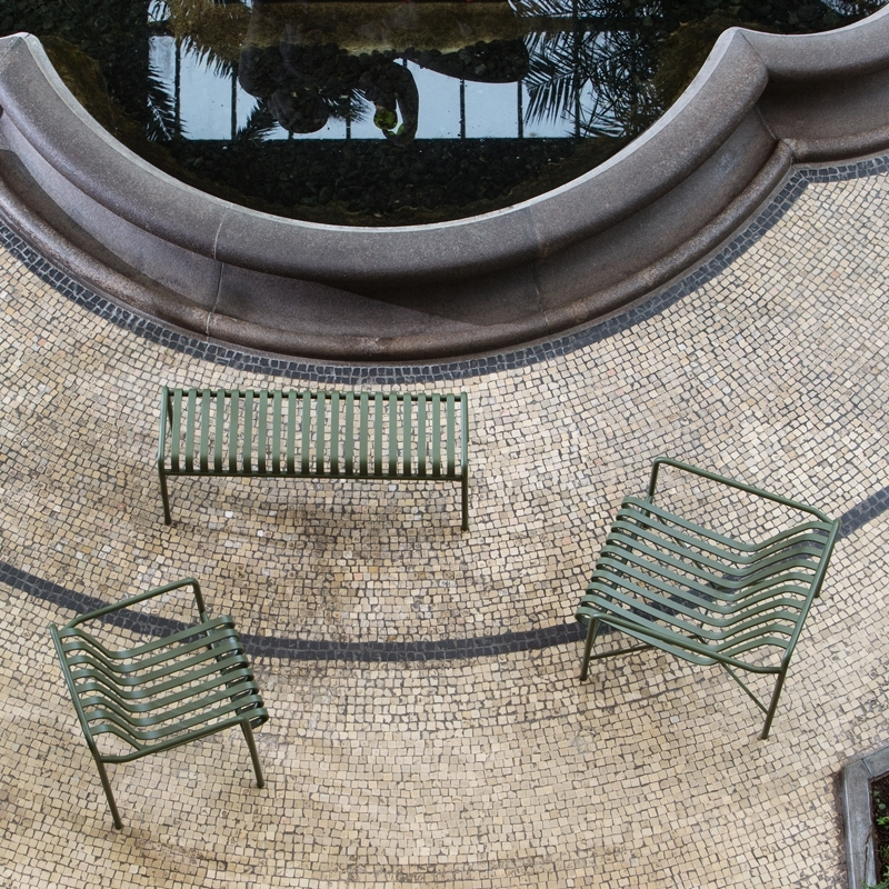 Chaise avec accoudoirs PALISSADE