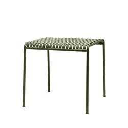 Table et table basse extérieur PALISSADE 82x90 HAY