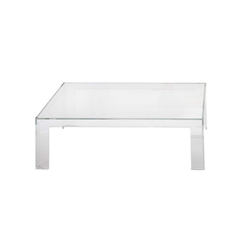 invisible table table basse kartell silvera. Black Bedroom Furniture Sets. Home Design Ideas