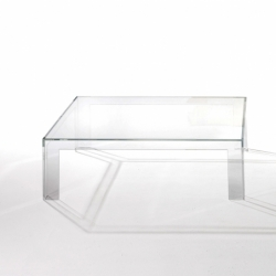 invisible table table basse kartell - silvera
