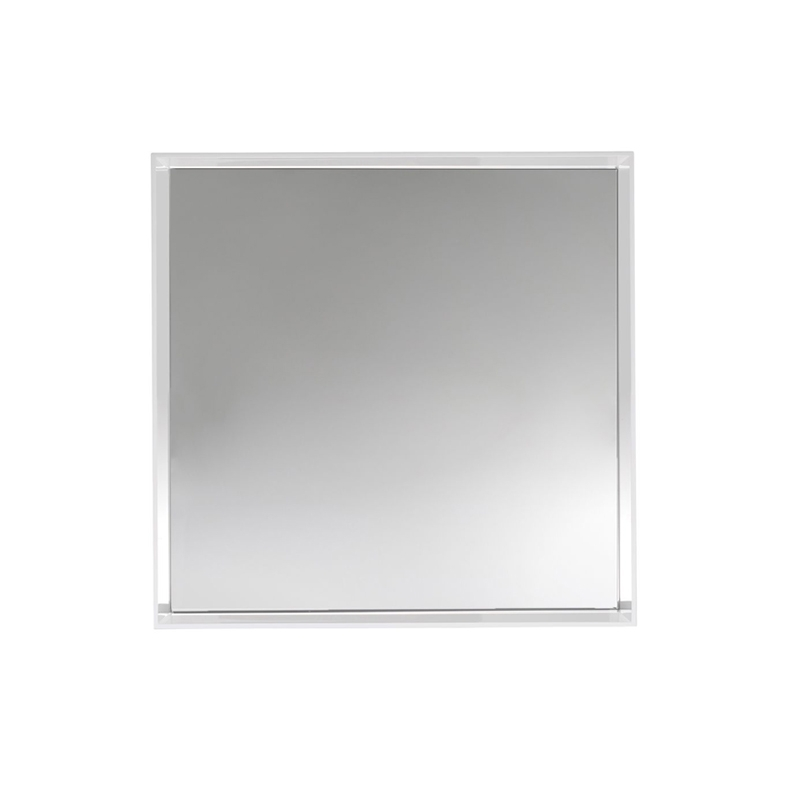 Miroir only me 50x50 miroir kartell silvera for Miroir 50x50