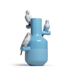 Objet insolite & décoratif Lladro Vase PARROT PARADE