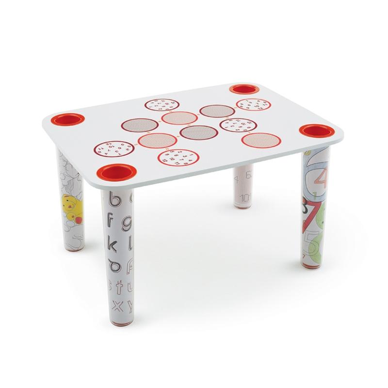 Table & bureau Magis Table LITTLE FLARE décor cercles