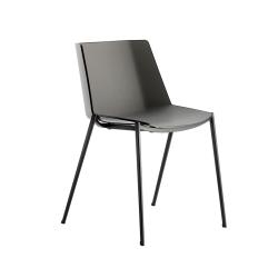 Chaise AÏKU pieds coniques MDF