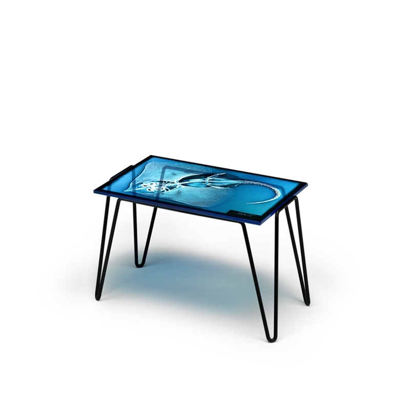 Table d'appoint guéridon Diesel with moroso DIESEL X RAYDIO  1 RAZZA
