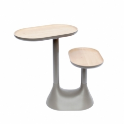 Table d'appoint guéridon Moustache BAOBAB