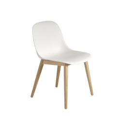 Chaise FIBER CHAIR 4 pieds bois MUUTO