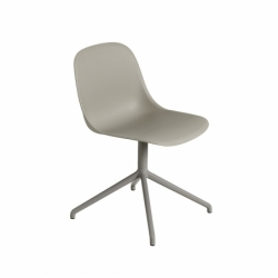 Chaise Muuto FIBER CHAIR pied central