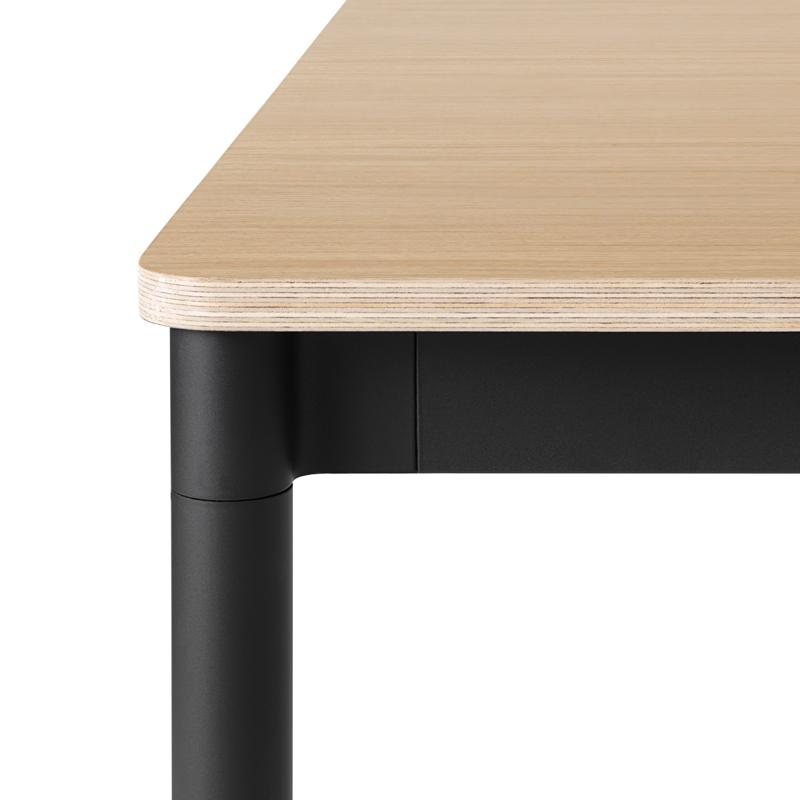BASE TABLE 140 x 80 plateau chêne