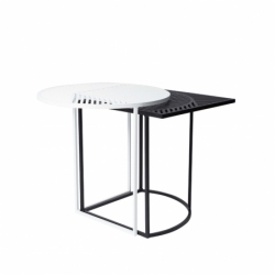 Table d'appoint guéridon Petite friture ISO-A Ronde