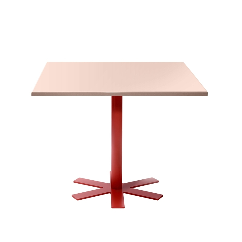 Table Petite friture PARROT 90x90