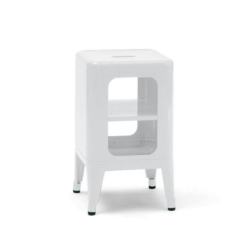 Meuble tabouret h50 meuble de rangement tolix silvera - Meuble tolix ...