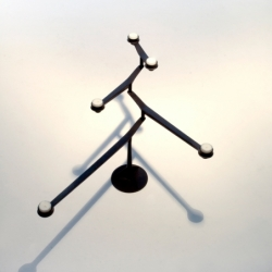 Photophore, bougeoir et bougie Tom dixon Candélabre SPIN TABLE