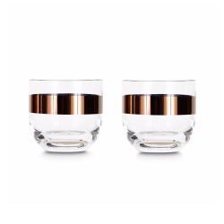 Carafe & verre Set de 2 verres à whisky TANK TOM DIXON