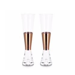 Carafe & verre set de 2 verres à champagne TANK TOM DIXON