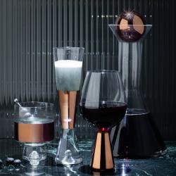 Carafe & verre Tom dixon set de 2 verres à champagne TANK