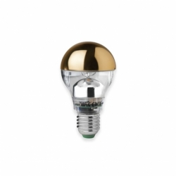 Suspension MEGAMAN LED Ampoule E27 dorée TOM DIXON