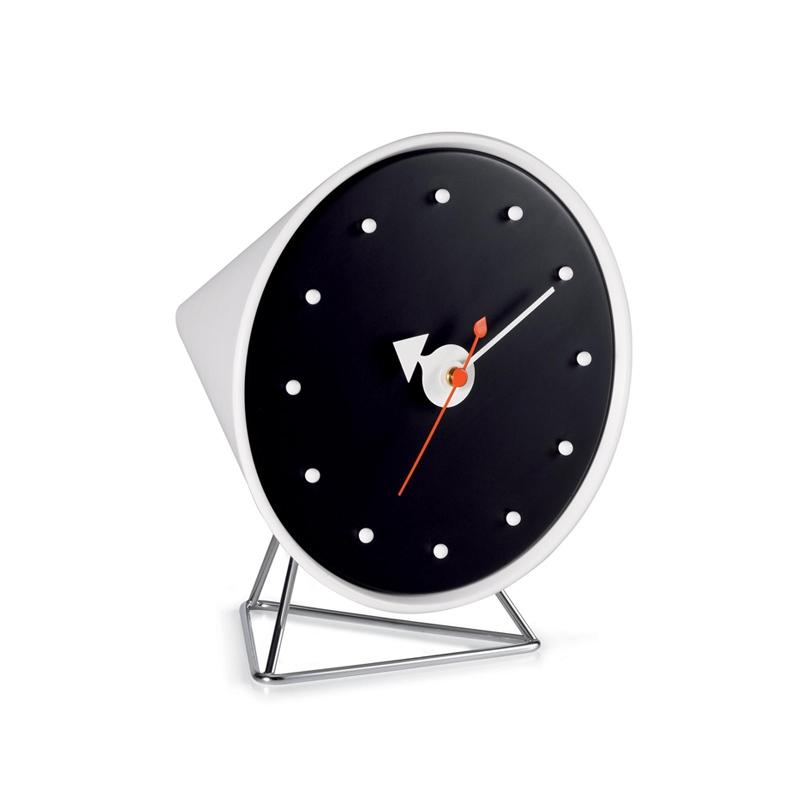 Horloge Vitra Pendule DESK CLOCKS Cone Clock