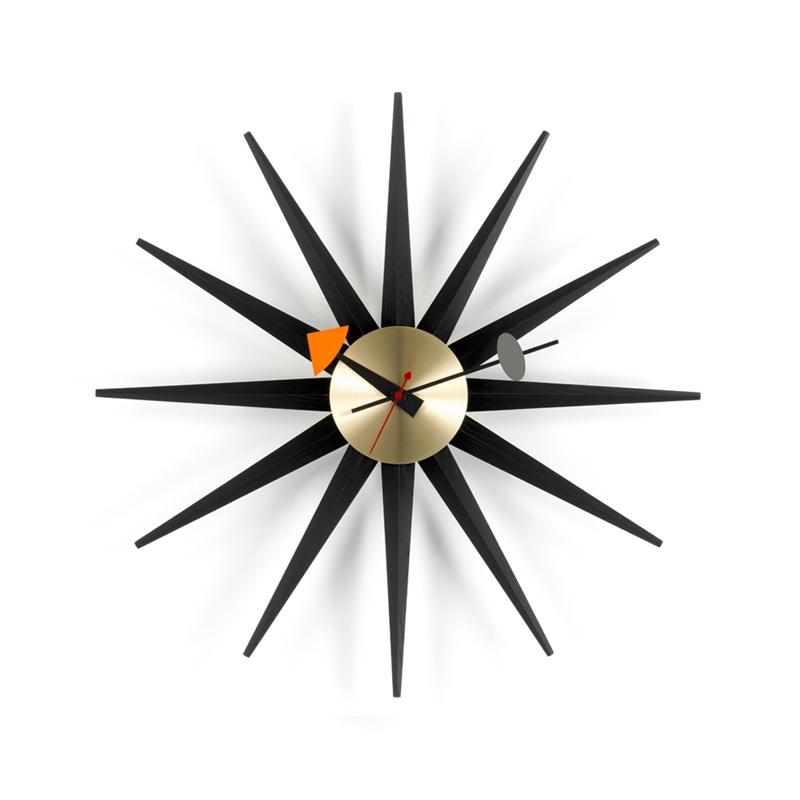 Horloge Vitra Horloge SUNBURST CLOCK