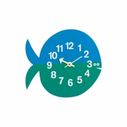 Horloge Horloge ZOO TIMER Fernando the Fish VITRA