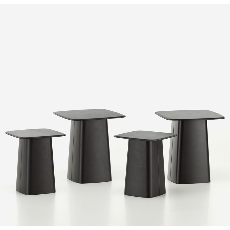 LEATHER SIDE TABLE M