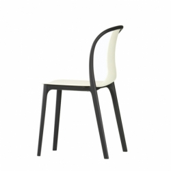 Chaise Vitra BELLEVILLE CHAIR plastique