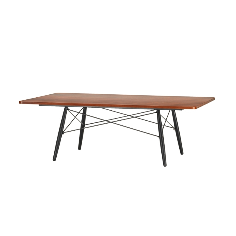 eames coffee table 114x76 table basse vitra - silvera
