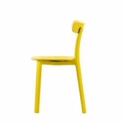 Chaise Vitra ALL PLASTIC CHAIR APC