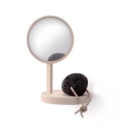 Petit rangement BELVEDERE étagère + miroir MOUSTACHE