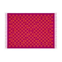 Plaid Plaid GIRARD WOOL BLANKET Double Heart VITRA