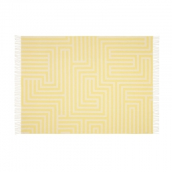 Plaid Plaid GIRARD WOOL BLANKET Maze Pattern VITRA