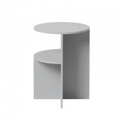 Table d'appoint guéridon Muuto HALVES SIDE TABLE