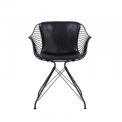 Petit Fauteuil WIRE DINING CHAIR OVERGAARD & DYRMAN