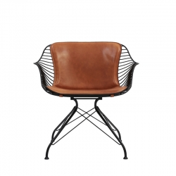 Fauteuil WIRE LOUNGE CHAIR OVERGAARD & DYRMAN