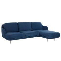 Canapé LUNE 3 places avec chaise longue FRITZ HANSEN