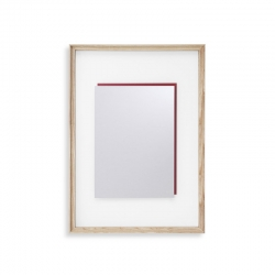 Miroir Cassina 083 DEADLINE Who's Afraid of Red