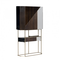 Meuble de rangement Baxter made in italy WIREFRAME BAR