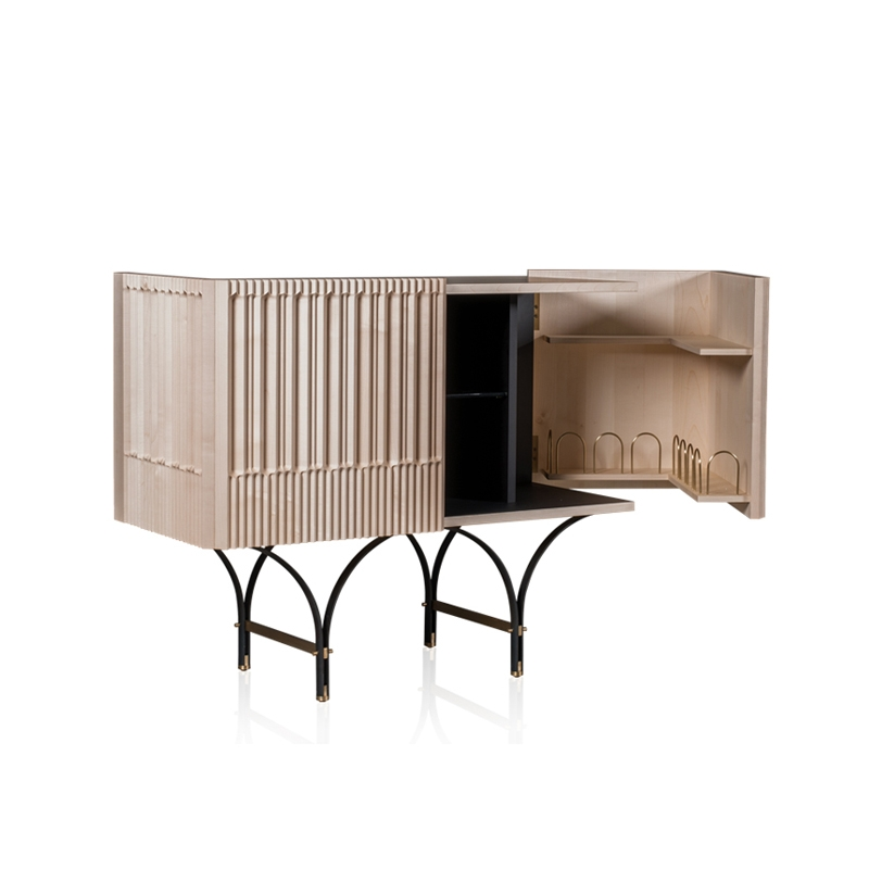 Meuble de rangement Baxter made in italy / Meuble bar GUELL L125