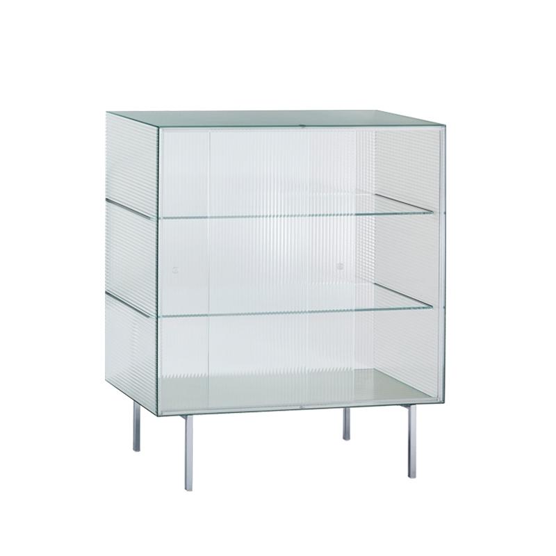 Meuble de rangement Glas italia COMMODORE Haut Verre rayé