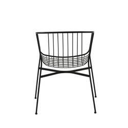 Chaise et petit fauteuil extérieur Sp01 JEANETTE
