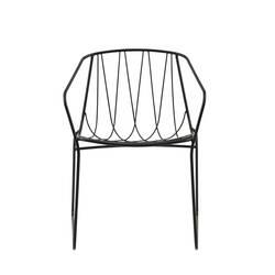 Chaise et petit fauteuil extérieur Sp01 CHEE ARMCHAIR