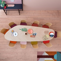 Table Zanotta TWEED L 300
