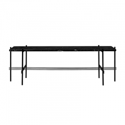 Table d'appoint guéridon TS CONSOLE H 40 GUBI