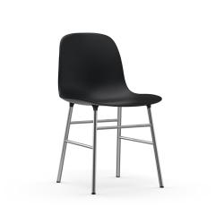 Chaise FORM CHAIR piètement chrome Normann Copenhagen