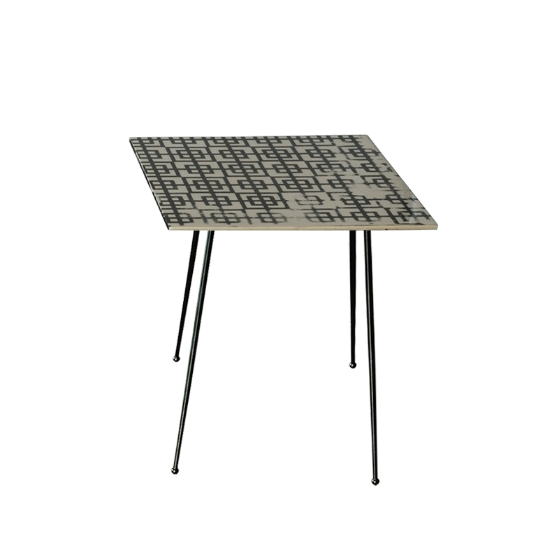 Table d'appoint guéridon Baxter made in italy PRINTABLE Quadrato Square