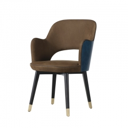 Petit Fauteuil COLETTE ARMCHAIR BAXTER MADE IN ITALY