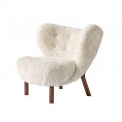 Fauteuil LITTLE PETRA VB1 peau de mouton AND TRADITION