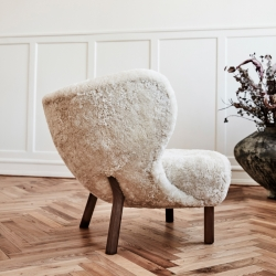 Fauteuil And tradition LITTLE PETRA VB1 Sheepskin