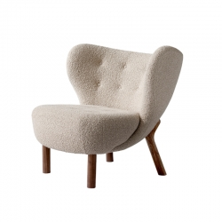 Fauteuil LITTLE PETRA VB1 Karakorum AND TRADITION