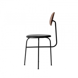 Chaise Menu AFTEROOM CHAIR PLUS noyer/cuir